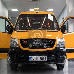 Mercedes Sprinter Transport Bus with 1 Door - Gürsözler Otomotive - StyleBus - www.stylebus.com.tr
