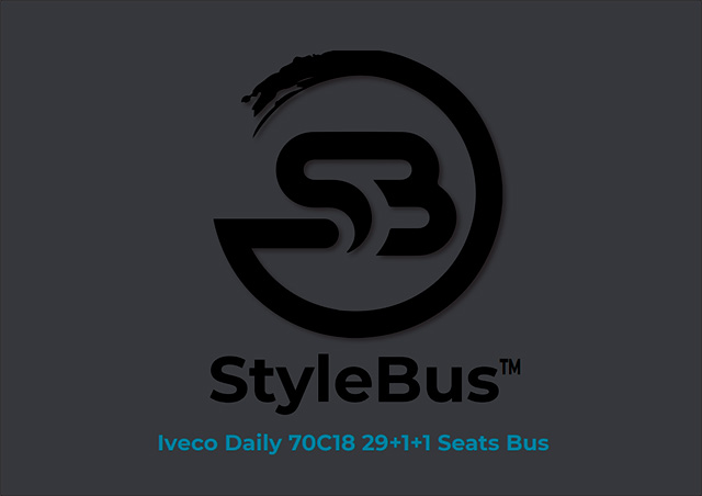 IVECO DAILY 70C18 29+1+1 SEATS BUS