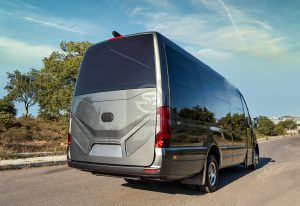 StyleBus Mercedes Luxury Tourism Bus Gray