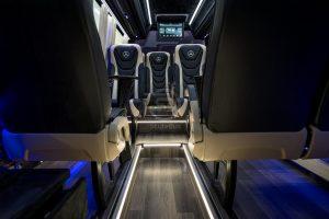StyleBus Mercedes Luxury Tourism Bus Gray