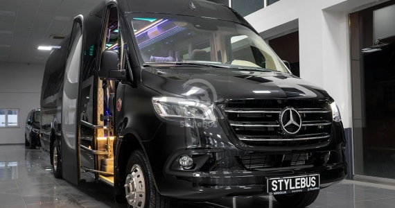 MERCEDES SPRINTER Tourism Bus Extended 19+1+1 Seats